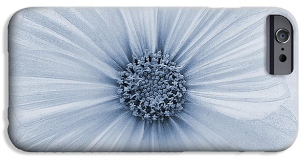 Cosmo iPhone Cases - Evanescent Cyanotype iPhone Case by John Edwards