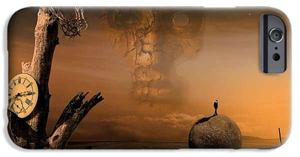 Head Stone iPhone Cases - Even just for one iPhone Case by Franziskus Pfleghart