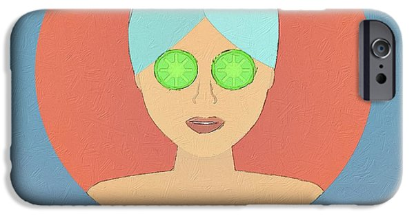 Miracle Digital iPhone Cases - Even Miracles Take Time iPhone Case by Florian Rodarte