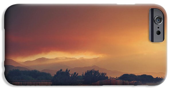 Wildfire iPhone Cases - Even Now iPhone Case by Laurie Search
