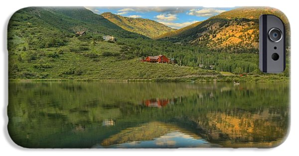 Beaver Lake iPhone Cases - Evening At Beaver Lake iPhone Case by Adam Jewell