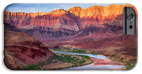 Solitude Photographs iPhone Cases - Evening at Cardenas iPhone Case by Inge Johnsson
