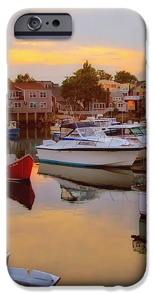 Evening in Rockport iPhone Case by Joann Vitali