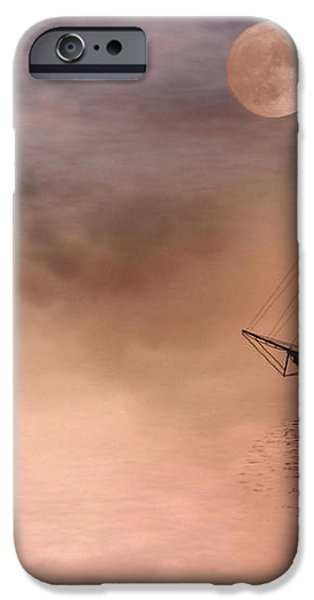 Evening Mists iPhone Case by John Edwards