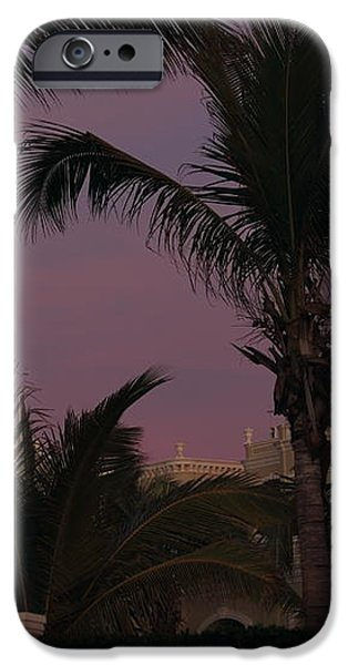 Evening Moon iPhone Case by Shane Bechler