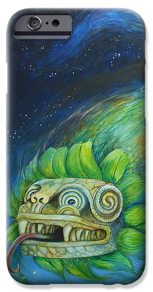 Serpent iPhone Cases - Evening Star iPhone Case by R Christy
