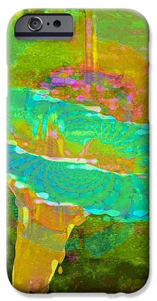 Ever Turquoise iPhone Case by Shirley Sirois