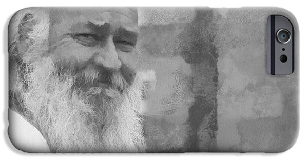 Character Study iPhone Cases - Everglades Santa iPhone Case by Michael Kennedy
