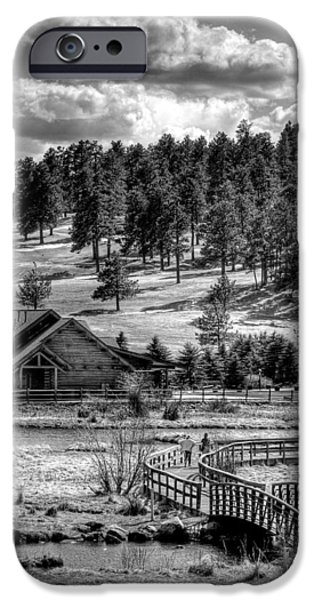 Evergreen Lake House Fall iPhone Case by Ron White