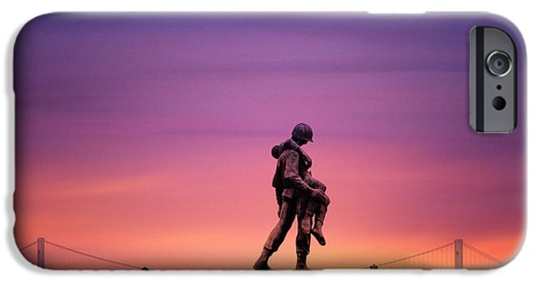 Memorial Day Digital Art iPhone Cases - Everyday is Memorial Day iPhone Case by Bill Cannon
