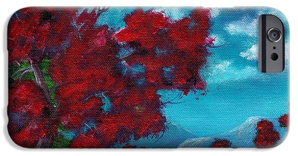 Mountain iPhone Cases - Everything Autumn iPhone Case by Anastasiya Malakhova