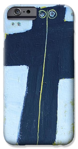 Abstract Expression iPhone Cases - Exanimus No. 10  iPhone Case by Mark M  Mellon