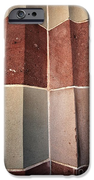 Exchange Place iPhone Cases - Exchange Columns iPhone Case by John Rizzuto