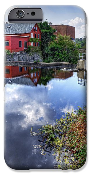 Newengland iPhone Cases - Exeter New Hampshire iPhone Case by Rick Mosher