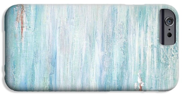 Debi Pople iPhone Cases - Exhale iPhone Case by Debi Starr