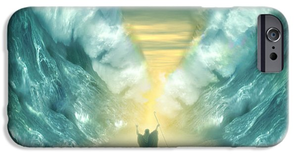 Miracle Digital iPhone Cases - Exodus iPhone Case by Carol and Mike Werner