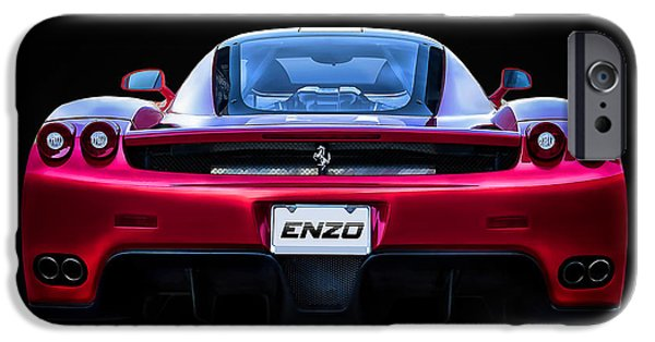Extreme iPhone Cases - Exotic Ferrari Enzo iPhone Case by Douglas Pittman