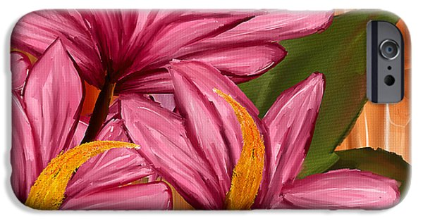 Magnolia iPhone Cases - Exotic Thing iPhone Case by Lourry Legarde