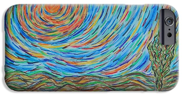 Vibrant Pastels iPhone Cases - Expansion iPhone Case by Cathy Bishop