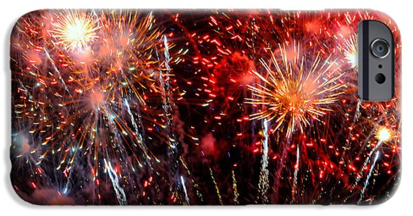 4th July iPhone Cases - Explode iPhone Case by Diana Angstadt