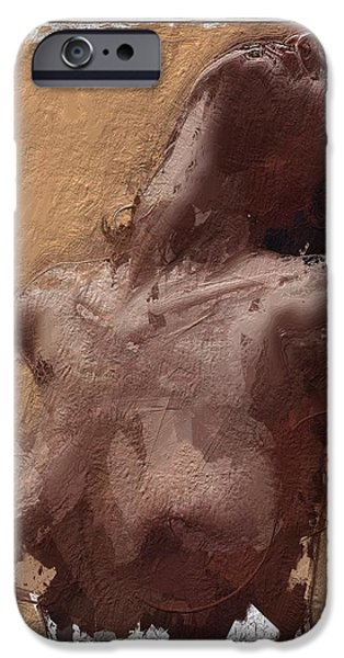 Innocence Mixed Media iPhone Cases - Exploding Senses iPhone Case by Stefan Kuhn