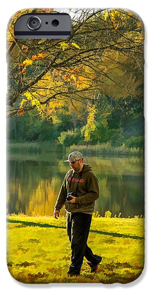 Exploring Autumn Light iPhone Case by Steve Harrington
