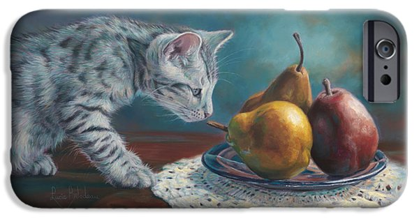 Pear iPhone Cases - Exploring iPhone Case by Lucie Bilodeau