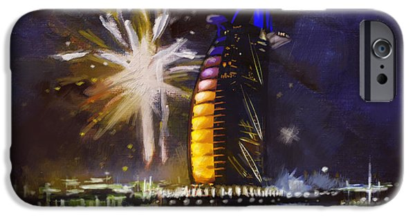 Fireworks iPhone Cases - Expo Celebrations iPhone Case by Corporate Art Task Force