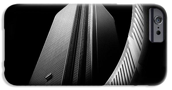 Curve iPhone Cases - Express Elevator iPhone Case by Az Jackson