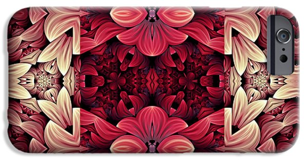 Google Mixed Media iPhone Cases - Expressing Passion iPhone Case by Georgiana Romanovna