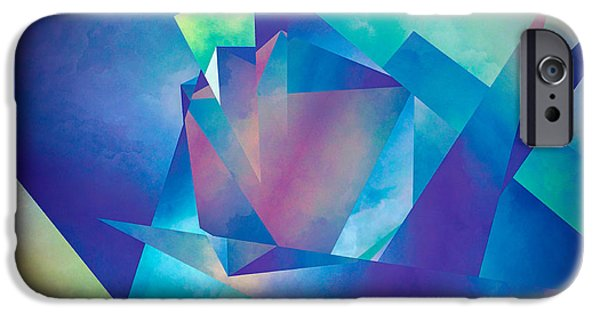 Abstract Movement iPhone Cases - Extracts of Ego iPhone Case by LC Bailey
