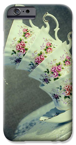 Table Cloth iPhone Cases - Extreme Tilt iPhone Case by Amanda And Christopher Elwell