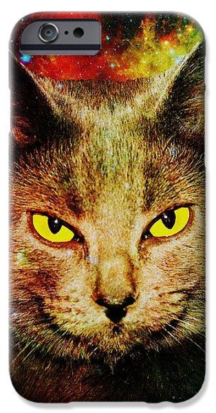 Eye Contact iPhone Case by Anastasiya Malakhova