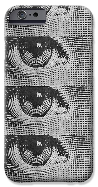 Cells iPhone Cases - Eyes Cell Phone Case iPhone Case by Edward Fielding