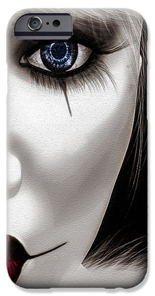Eyes of The Fool iPhone Case by Bob Orsillo