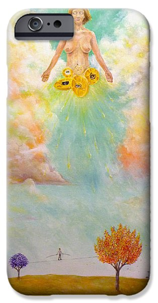 Ezekiel Revisited iPhone Case by James  Andrews