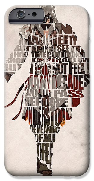 Wall Art Digital Art iPhone Cases - Ezio Auditore da Firenze from Assassins Creed 2  iPhone Case by Ayse Deniz