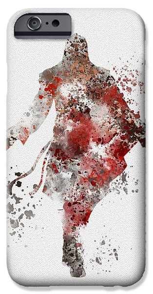 Recently Sold -  - Flag iPhone Cases - Ezio  iPhone Case by Rebecca Jenkins