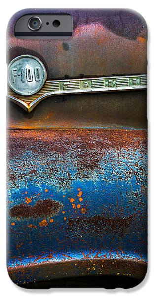 F-100 Ford iPhone Case by Debra and Dave Vanderlaan