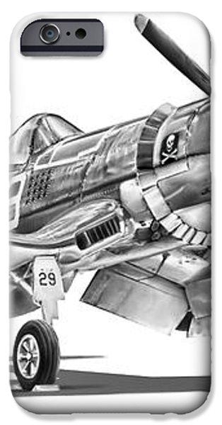 F4U Corsair iPhone Case by Dale Jackson