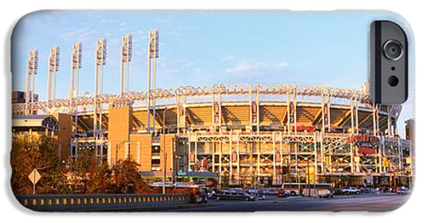 Baseball Stadiums iPhone Cases - Facade Of A Baseball Stadium, Jacobs iPhone Case by Panoramic Images