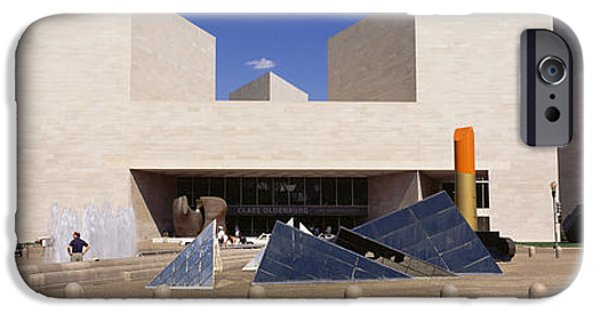 National Gallery Art iPhone Cases - Facade Of A Building, National Gallery iPhone Case by Panoramic Images