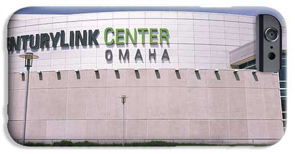 Nebraska iPhone Cases - Facade Of A Convention Center, Century iPhone Case by Panoramic Images