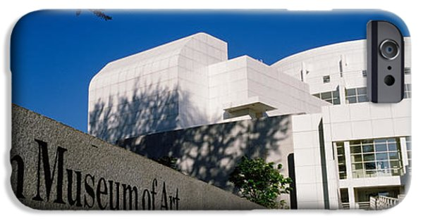Facade iPhone Cases - Facade Of An Art Museum, High Museum iPhone Case by Panoramic Images