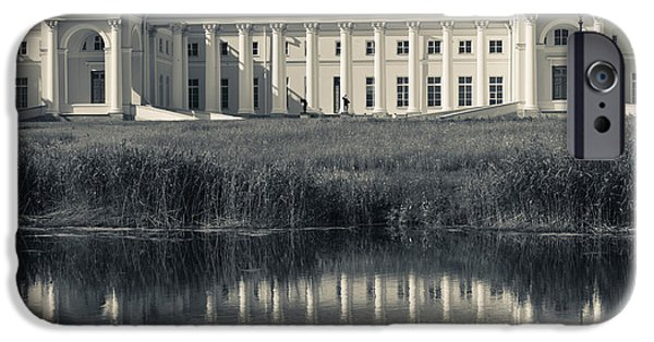 Facade iPhone Cases - Facade Of The Alexander Palace iPhone Case by Panoramic Images
