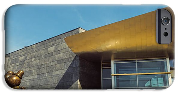 Art Of Building iPhone Cases - Facade Of The Hunter Museum Of American iPhone Case by Panoramic Images