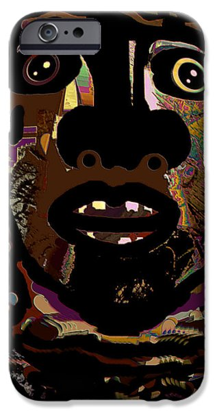 Face 15 iPhone Case by Natalie Holland