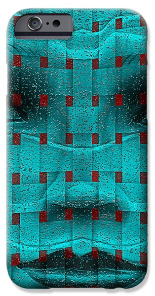 Virtual iPhone Cases - Face Of Siri iPhone Case by Keith Dillon