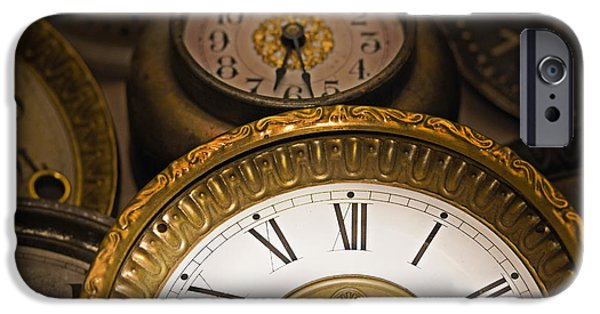Component iPhone Cases - Face of time iPhone Case by Tom Gari Gallery-Three-Photography