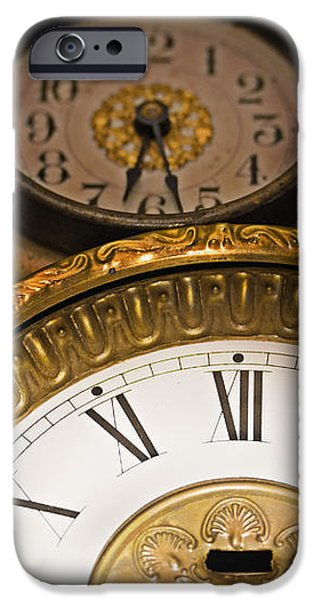 Face of time iPhone Case by Tom Gari Gallery-Three-Photography